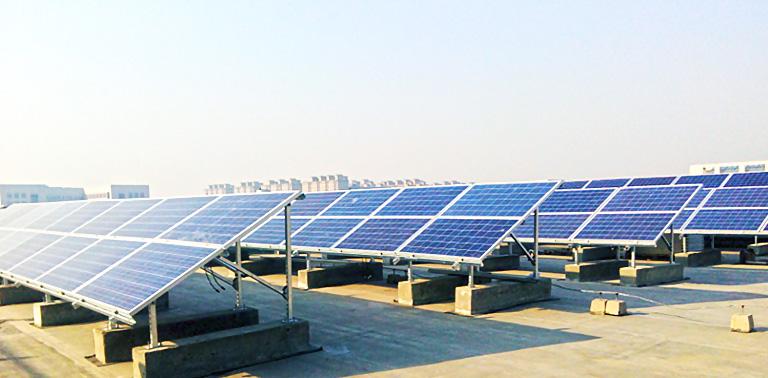 【园区屋顶类】永丰基地加速器一区分布式光伏屋顶电站示范园工程