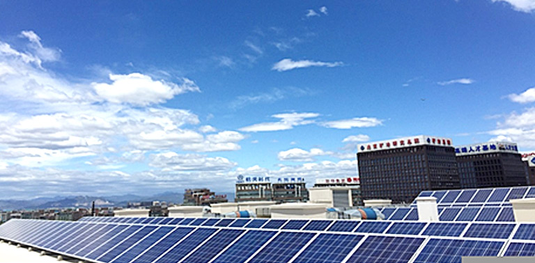 【商城屋顶类】永旺梦乐城商业分布式光伏屋顶电站项目