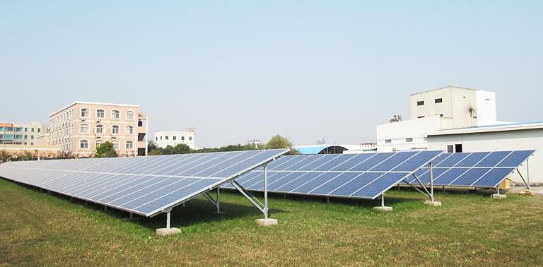 【地面电站类】杭州恩希爱光伏地面电站项目案例