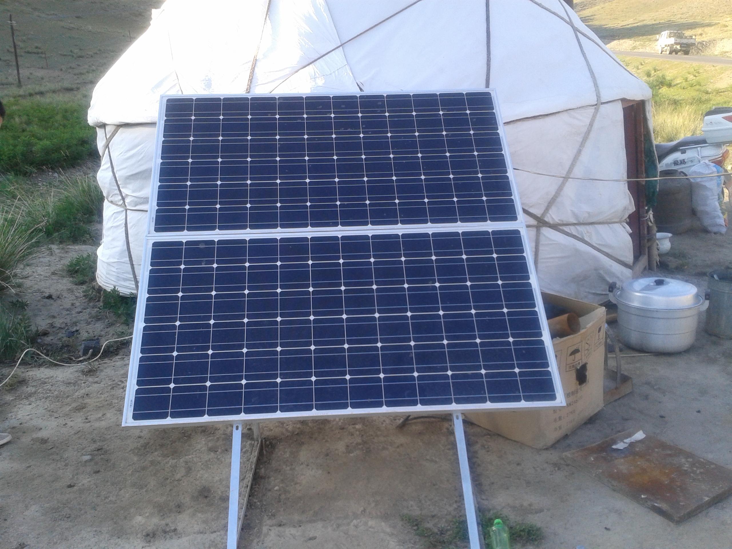 【户用类】西藏那曲地区太阳能户用光伏发电工程